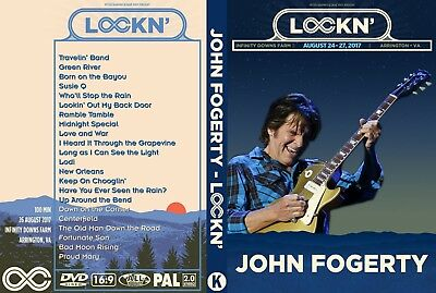 John Fogerty. 2017. Lockn Festival. Pro - Shot. Dvd.