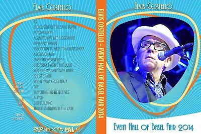 Elvis Costello. 2014. Event Hall On Basel Fair. Pro - Shot. Dvd.