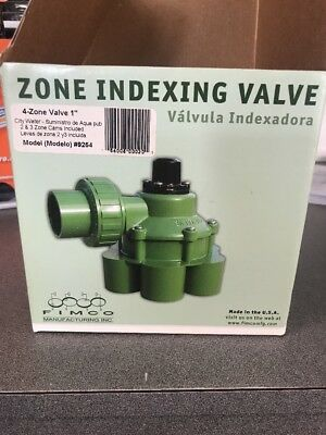 Fimco 4 Zone 1 Hydro Indexing Valve