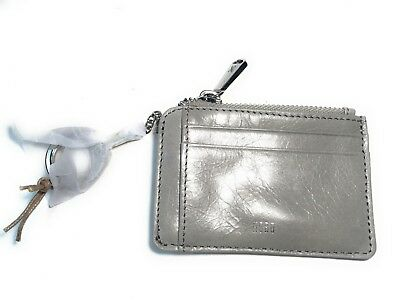 separation shoes f1ccb fb10e HOBO KAI LEATHER Card Holder Wallet Cloud Gray Nwt New $68 CX-32034 Grey ID  Case