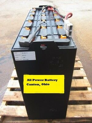 36 Volt Reconditioned Forklift Battery  18-125-11   Shipping Available