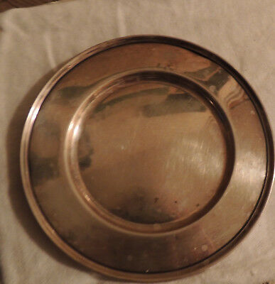 Antique Sterling Silver Plate or Tray