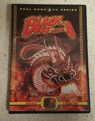 Black Belt Theatre - Ruby Collection DVD, 2-Disc Set 5 Films Real Kung-Fu OOP!