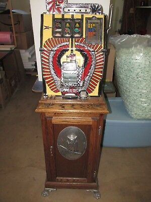 Mills War Eagle Slot Machine, 1969 Reproduction 25 cent machine