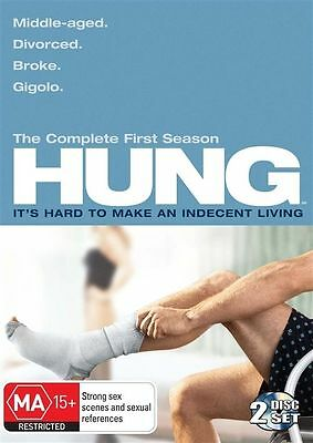 Hung : Season 1 (DVD, 2010, 2-Disc Set) REGION-4-LIKE NEW-FREE POST IN AUSTRALIA
