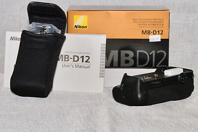 NIKON MB-D12 Multi-Power Battery Pack for D810, D810A, D800 & D800E Cameras - Ex