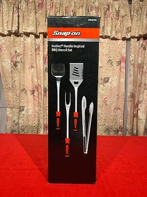 NEW Snap-on™ BBQ barbecue Utensil Set SSX18P104
