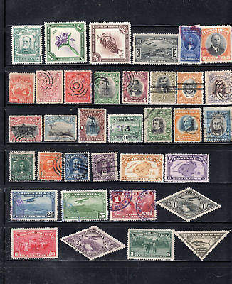 Costa Rica Latin America  Stamps Used And Mint Hinged  Lot 36956