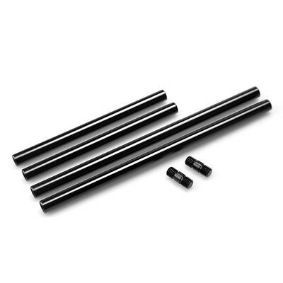 (Rods with Rod Connector) - SmallRig 15mm Rods Pack with M12 Thread Rod Cap