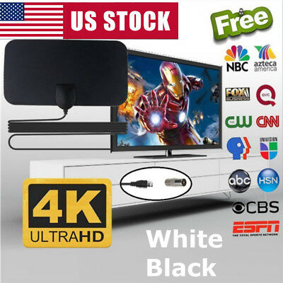 200 Mile 1080P Range Antenna TV Digital HD Skylink 4K Antena Digital Indoor HDTV