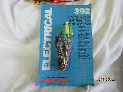 THEXTON 392 -:- GM Micro-Pack and Metri-Pack Jumper Wire Sets ***Take A Look***