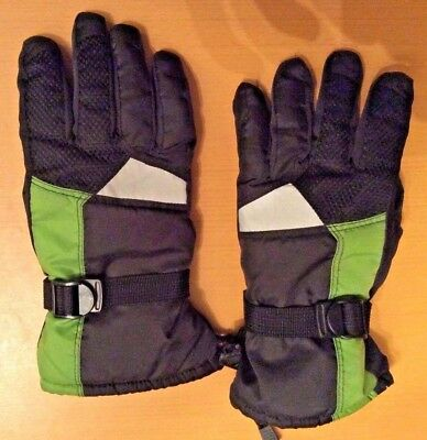 3M Thinsulate Insulation 40 Gram Cold Weather Green Ski & Snowboard Gloves