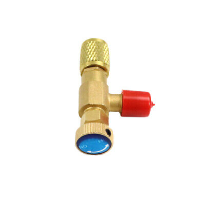 "1/4"" SAE Male to 1/4"" SAE Famale R22 Refrigeration Charging Valve Adapter 130mm"