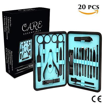 Care Essentials Nail Clippers Set  Professional Manicure Pedicure Kit  Durable