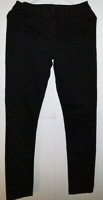 Calvin Klein Ladies  Jeans   Leggings Size 4 Black Pre-Owned