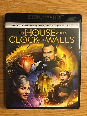 The House With A Clock In Its Walls (4K Ultra Hd+Blu Ray,2-Disc Set No Digital)