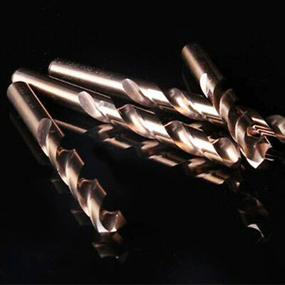 HSS Cobalt Twist Drill Bits HSS-Co For Hard Metal Stainless Steel Power Tool