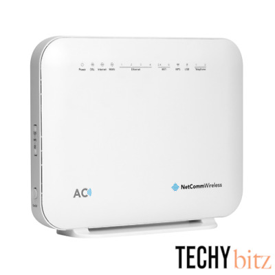 NetComm NF18ACV AC1600 Wi-Fi xDSL Modem Router with Voice - FTTP FTTN NBN READY