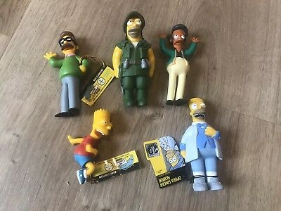 5 x Simpsons Figurines