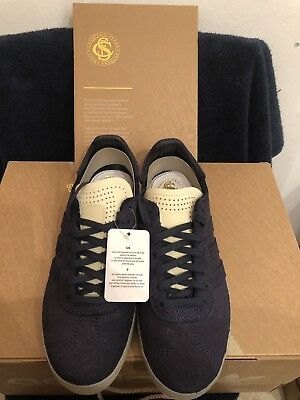 competitive price 33e52 9332b NEW Sz 7 ADIDAS GAZELLE CRAFTED CHARLES F STEAD Limited NAVY BLUE BW1250 Men