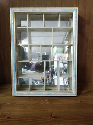 shadow box display, 32X42X6 cm, with mirror back (figurines not included)