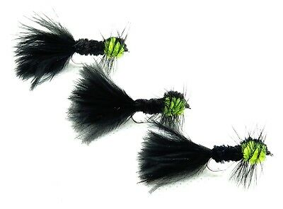 058A 10 X ASSORTED  LONGSHANK NYMPH GLASS  NYMPHS FISHING FLIES SIZE 10
