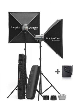 Elinchrom EL 20852KIT D-LITE RX 4/4 Kit with Stands (Multi Color)