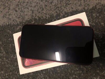 Apple Iphone Xr 64gb Red Ohne Simlock Smartphone Neu Ovp