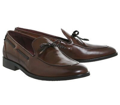 6a05fc66c97 MENS POSTE FAMIGLIA Snaffle Loafers Tan Leather Formal Shoes - EUR ...