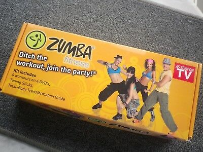 Zumba Fitness Kit - Green Toning Sticks+Dvds - .home Fitness - Value