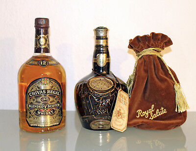 Chivas Regal Royal Salute 21 Years Old + 12 Years Jahre alt - 40% Scotch Whisky