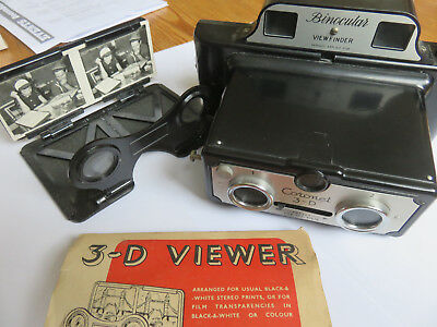 Coronet 3D Stereo camera with viewer