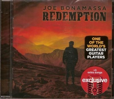 Joe Bonamassa - Redemption (Exclusive Edition +3 Extrasongs)    - CD NEU