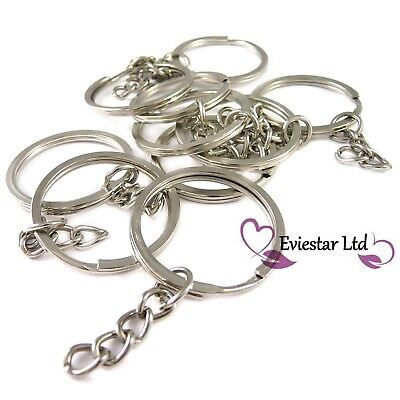 30mm Keyrings Steel Double Split Ring Blanks Key chains REO1