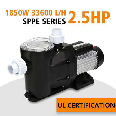 2.5HP SWIMMING POOL Pump Self Start Spa Above In Ground ...