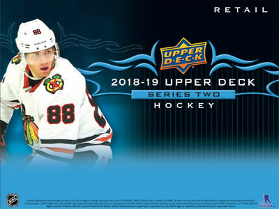 2018-19 Upper Deck Series 2 Tins 12 Box Case Break #1