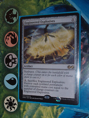 Magic 1x Engineered Explosives Ultimate Masters MTG mint
