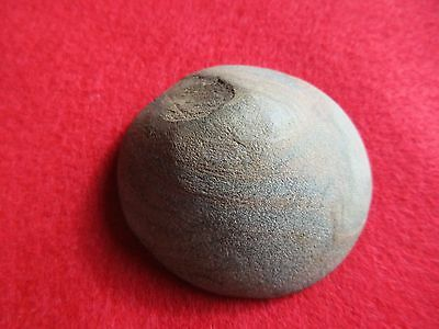 Native American Stone Cone, Plains Indian  Carved Granite Cone, Port-00789