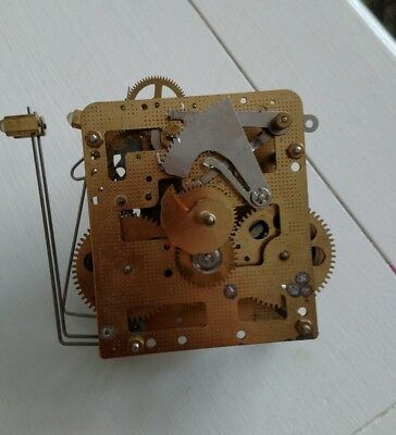 Franz Hermle Clock Movement 86.  341-030 /45 – Parts or Repair, Used lot#2