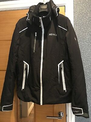 Mens Black nevica Ski Jacket, Size L/42 great Condition