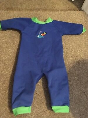 Thermal Swimsuit Size 6-12 Months