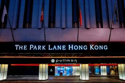 Luxury hotel stay: up to nine days at the Park Lane Hotel in Hong Kong