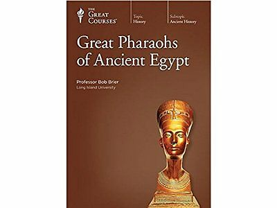 Great Pharaohs of Ancient Egypt (Softcover / DVD)