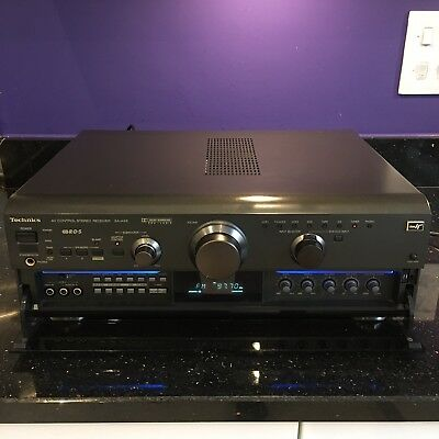 Technics SA-AX6 AV Control Pro Logic Dolby Surround Stereo Receiver