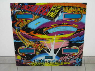 Gottlieb Close Encounters Backglas Flipperscheibe Flipper Flipperautomat Pinball