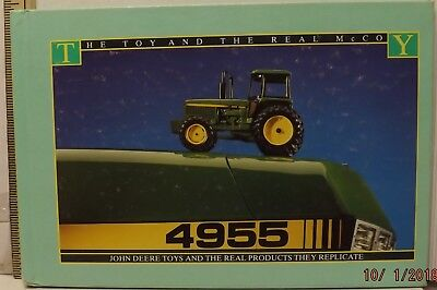 JOHN DEERE BOOK 4955 The Toy and The Real McCoy Toys and Products They Replicate