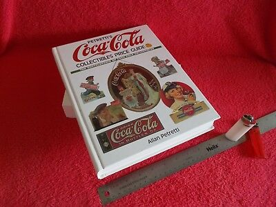 ALLAN PETRETTI COCA-COLA COLLECTIBLE PRICE GUIDE BOOK, 11th. EDITION, ALMOST MIN