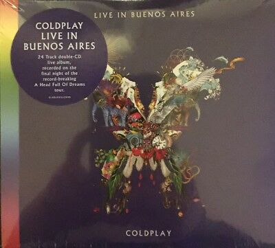 COLDPLAY LIVE IN BUENOS AIRES 2 CD (Released December 7th 2018))