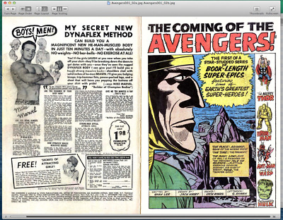 The Avengers 1-300 + Annuals + Giant-Size on DVD in CBR and CBZ format