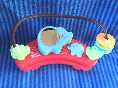 Fisher Price Luv U Zoo Jumperoo Elephant Mirror Toy Replacement Part